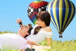 הצעת נישואין, טיסה רומנטית